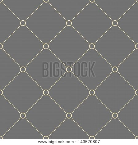 Geometric repeating vector pattern. Seamless abstract modern texture for wallpapers and backgrounds