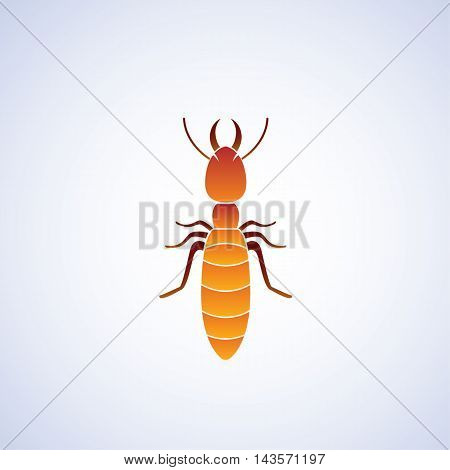 termite ideas design vector illustration on background