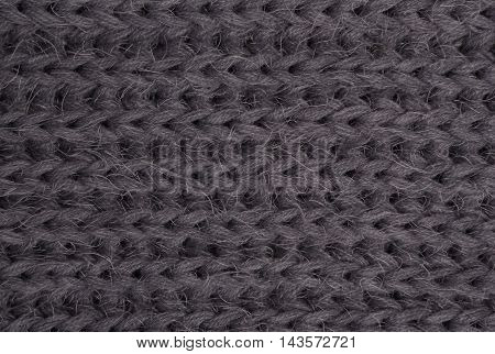 Gray Knitted Fabric