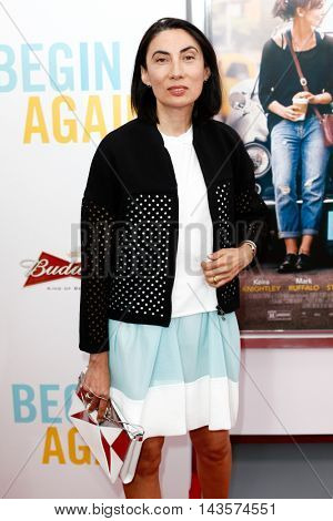 NEW YORK-JUNE 25: Artist Anh Duong attends the New York premiere of Weinstein company's