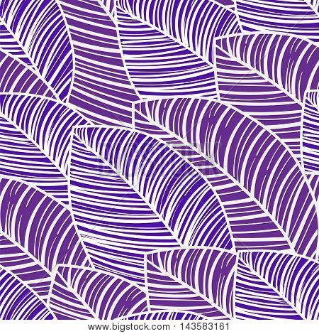 seamless wallpaper purple and white tropical leaves