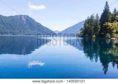 Lake Crescent at Olympic National Park, Washington, USA