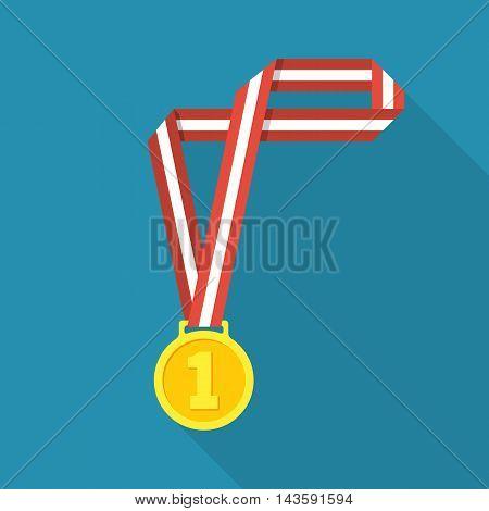 Medal On Ribbon Vector