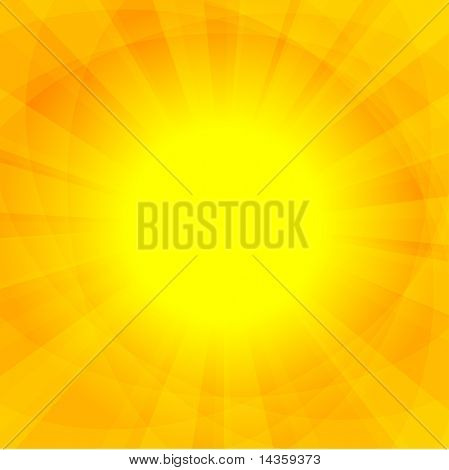 Beautiful sunny background. Vector illustration.
