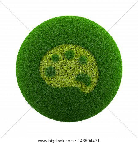 Grass Sphere Paint Icon