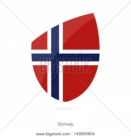 Flag Of Norway. Norway Rugby Flag.