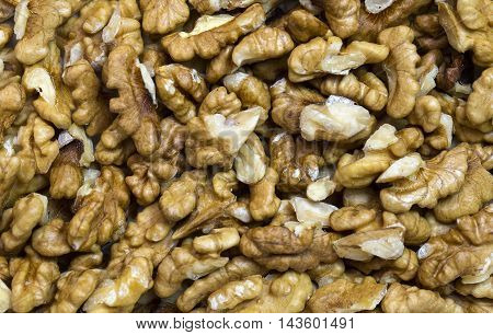 background walnuts close-up shot Mixed Salted Nutty