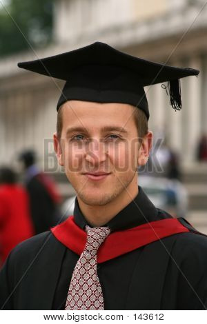 Graduating Student Portrait