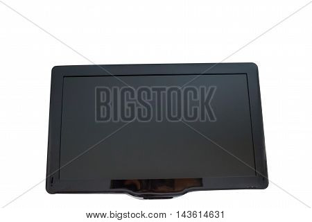 TV digital technology on a white background