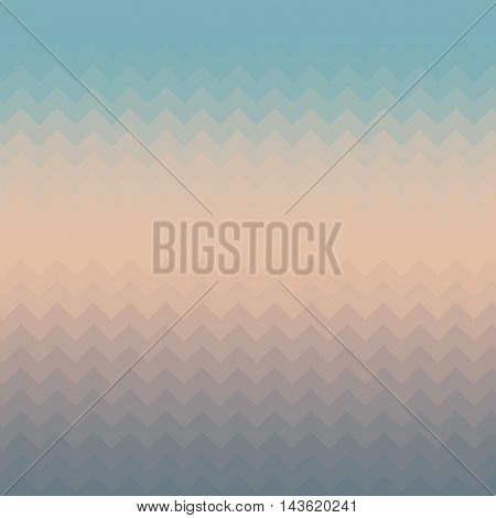 Abstract pastel background with a muted zig zag pattern