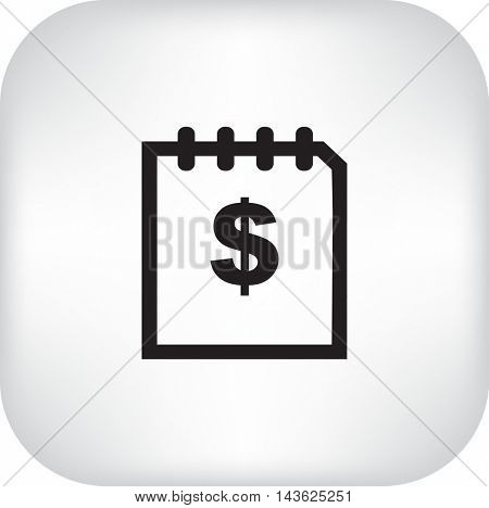 Flat icon. Finance.