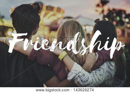 Friendship Partnership Relationship Togetherness Concept