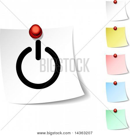 Switch sheet icon. Vector illustration.