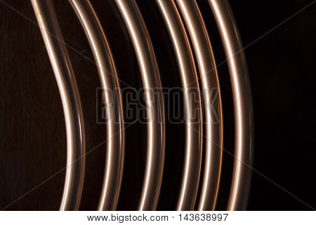 Copper pipes use installation of air conditioning and other applications.