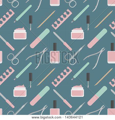Manicure Flat Pattern