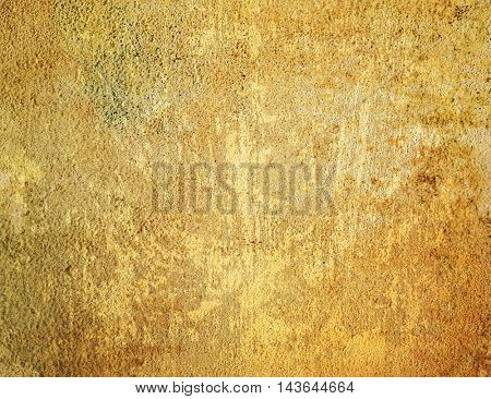 Brown grungy wall - textures for your design
