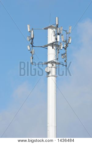 Cellular Phone And Telecommunication Tower