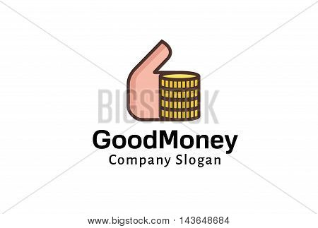 Godo Money Logo Creative And Symbolic Design Illustration