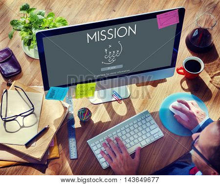 Mission Goals Objective Strategy Target Vision Concept