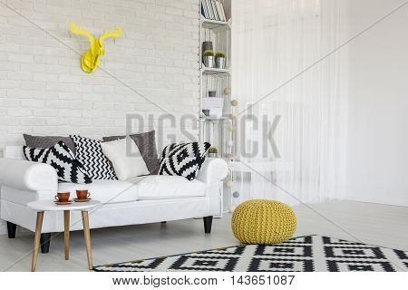 Modern Interior With A Sense Of Harmony And Delicacy