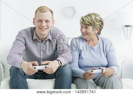 Beating Her Grandson