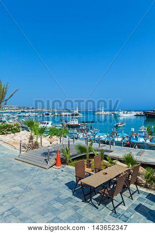 Ayia Napa City Beach And Coast Cafe, Cyprus
