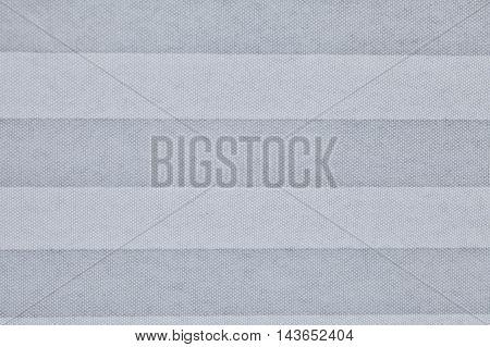 Zig Zag Pattern Of White Fabric Folding