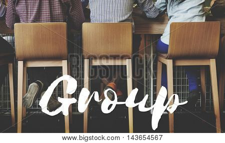 Integrity Group of People Talking Conversation Concept