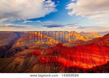 Mather Point, View Point, Grand Canyon National Park, Arizona, Usa