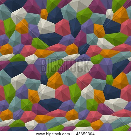Poly Triangulated Background