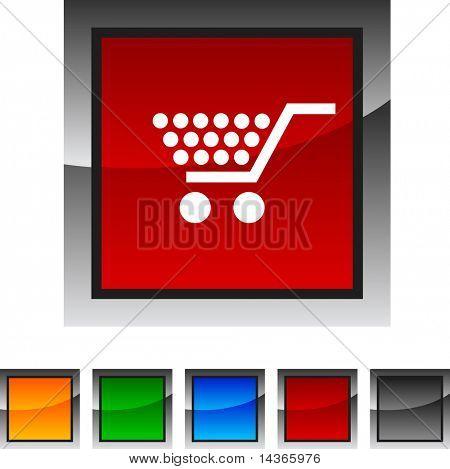 Shopping icon set. Vector illustration.