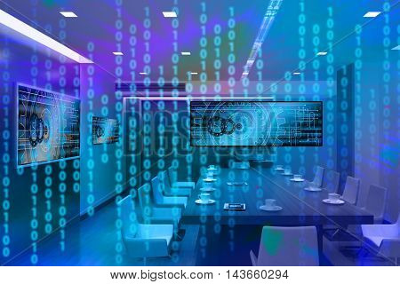 a digital image representing power binary code. it can be seen