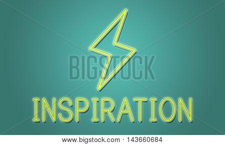 Creativity Ideas Lightning Imagination Inspiration Concept
