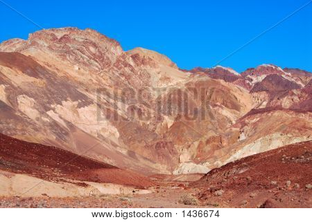Künstler-Palette in Death Valley, Kalifornien