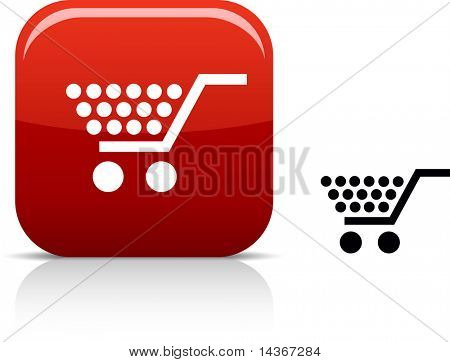 Shopping  beautiful icon. Vector illustration.