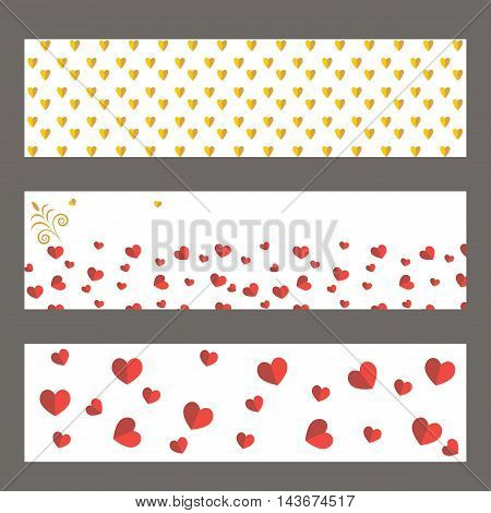 Vector flat background. greeting cards bunner inviting cards.