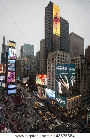 Times Square In Nyc