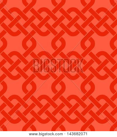 Vector illustration of Chinese knot seamless background