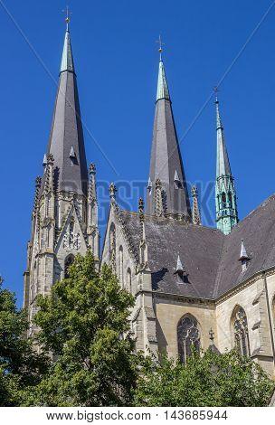 St. Ludgerus Dom Church In Billerbeck