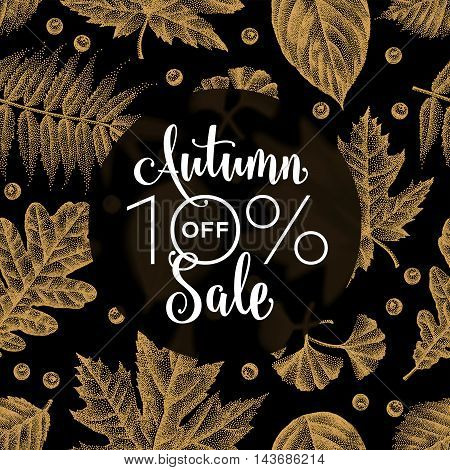 Etching Leaves Sale_01.eps