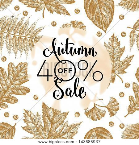 Etching Leaves Sale_08.eps
