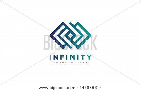 infinity logo suitable for any kind of business