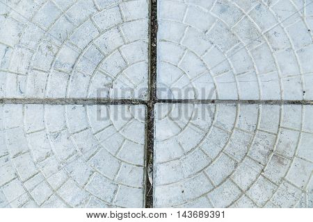 Texture of floor concrete slabs as background