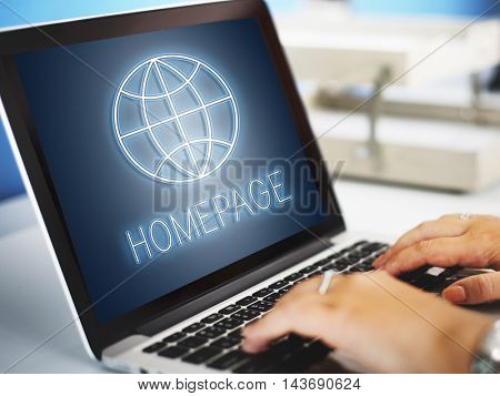 HTTP Homepage Internet Online Concept