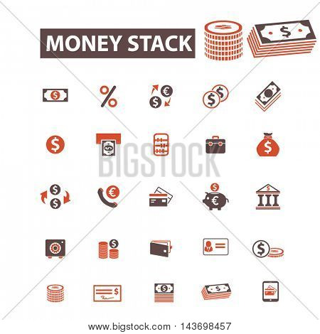 money stack icons