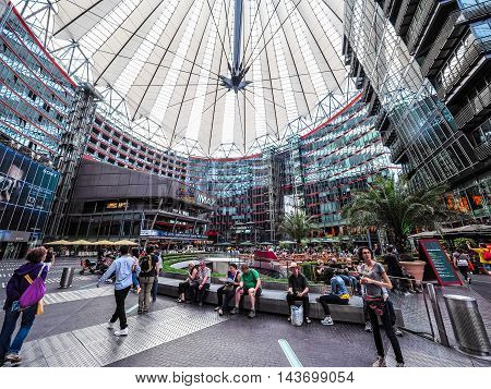 Sony Center In Berlin (hdr)