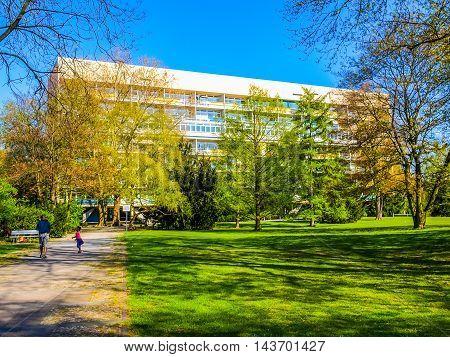 Hansaviertel In Berlin (hdr)