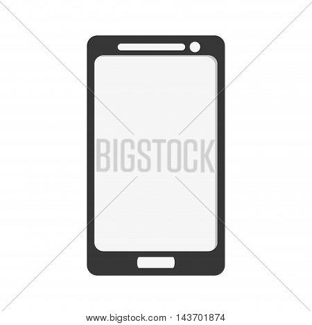 flat design modern cellphone icon vector illustration