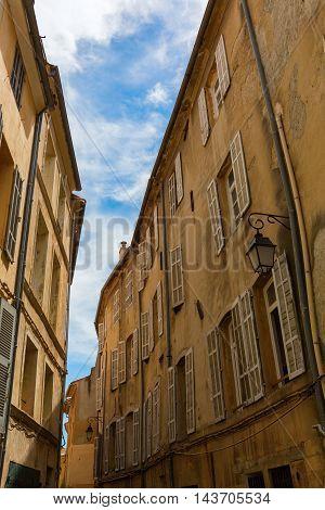 Alley In Aix En Provence