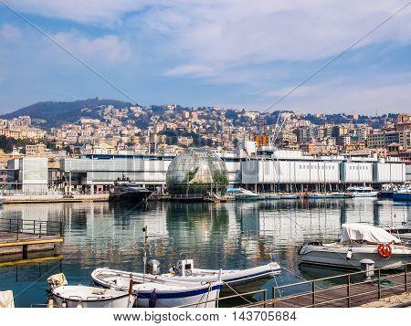 Porto Vecchio Genoa Italy (hdr)